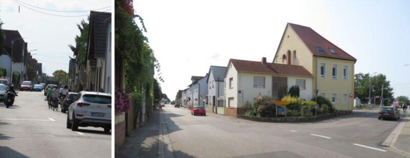 Ecke Berghäuser- und Heiligensteiner-Straße