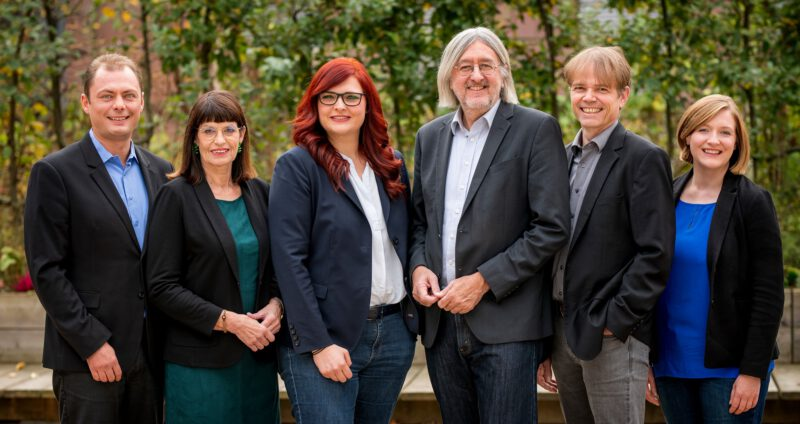 Jutta Blatzheim-Rögler, Pia Schellhammer, Dr. Bernhard Braun, Andreas Hartenfels, Katharina Binz
